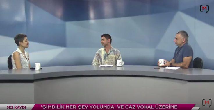 """Medyascope ///  Ses Kaydı (12): Çağıl Kaya ile albümü """"Şimdilik herşey yolunda"""" ve caz vokal üzerine"""