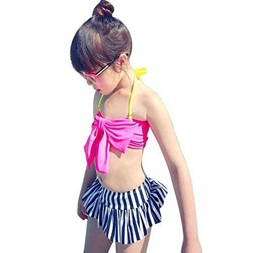 超可愛い 子供 女児水着 バンドゥ ビキニ 3点セット  キャップ付き ピンクL(100-120CM) R主宰者RULER http://www.amazon.co.jp/dp/B00U4IGXIG/ref=cm_sw_r_pi_dp_niHGwb02SX9PG