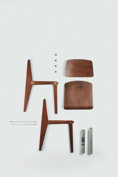 | JEAN PROUVÉ - CHAIR CB22 |