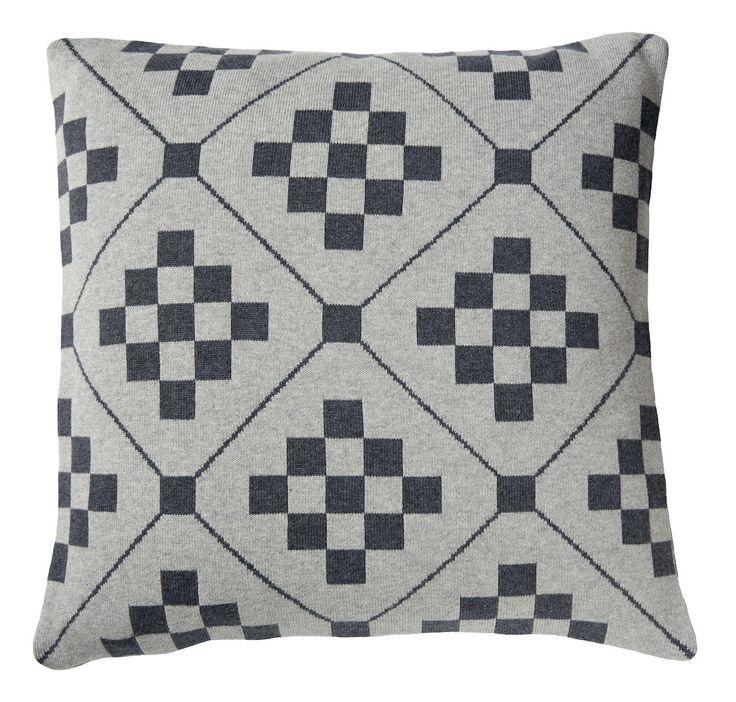 Chladni cushion, charcoal_front