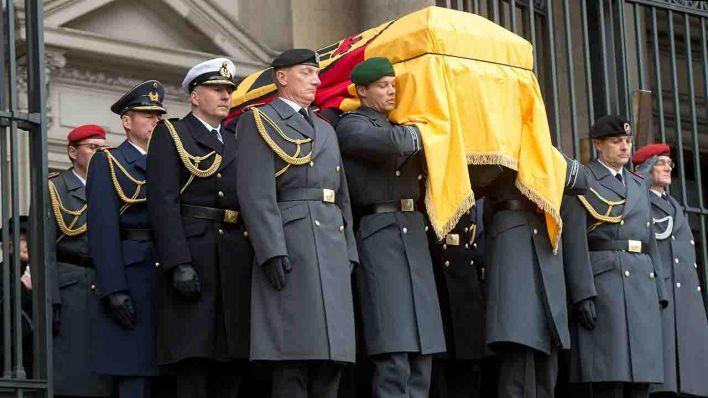 Staatsbegräbnis richard von Weizäcker