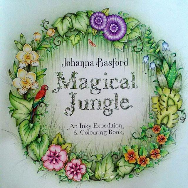 Finished  #magicaljungle #johannabasfordmagicaljungle #johannabasford…