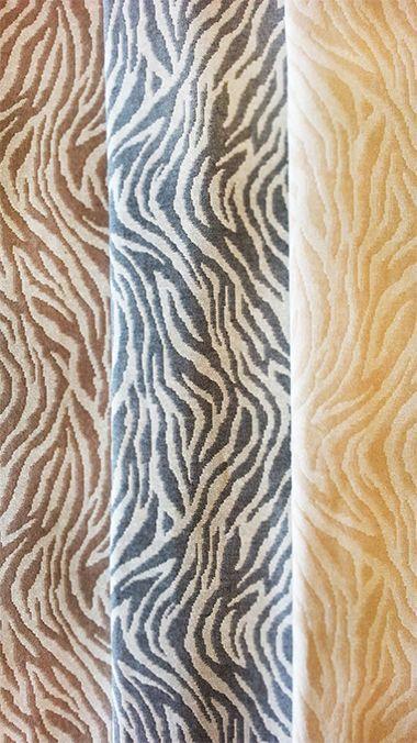 ZEBRATO BROWN ΡΙχτάρια βαμβακερά, πλενόμενα, Ελληνικής ραφής #animal #print #home #decoration #room
