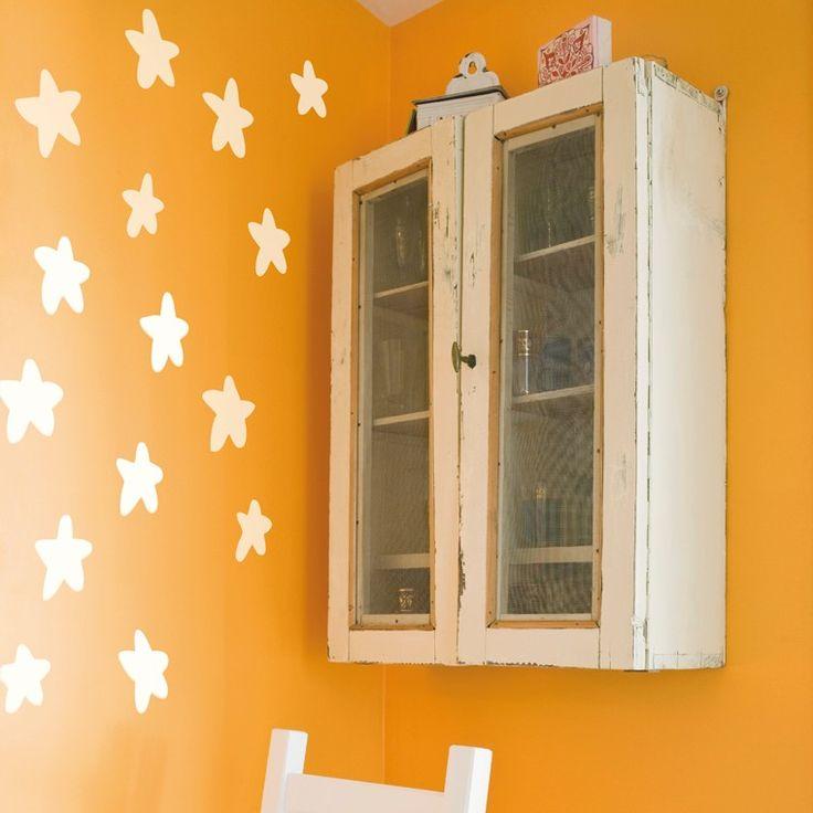 Porque las estrellas, no solo se ven de noche ;) Vinilos decorativos para niños Chispum