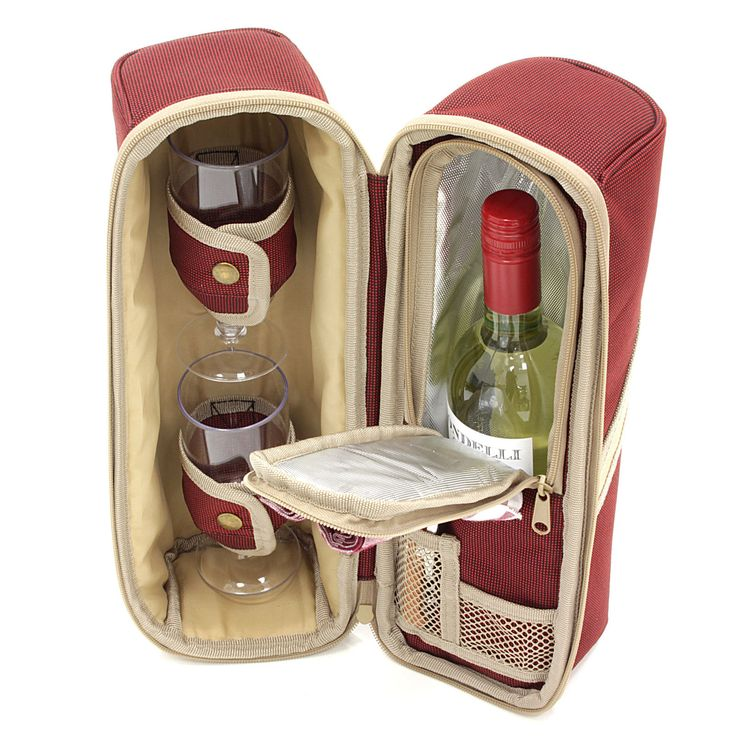 Deluxe Wine Cooler, Wine Pouch, Wine Bag, Cool Bag, Wine Gift Set Free UK Mainland Shipping http://ebay.to/28XV73x