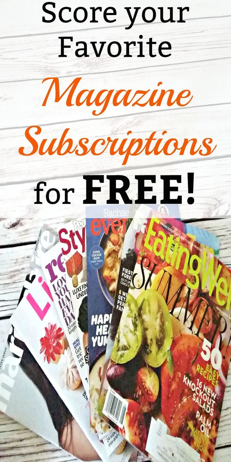 I get a ton of free magazine subscriptions every year. These are my tips and tricks to get the best magazines for free in your mailbox. They make great gift ideas, too!