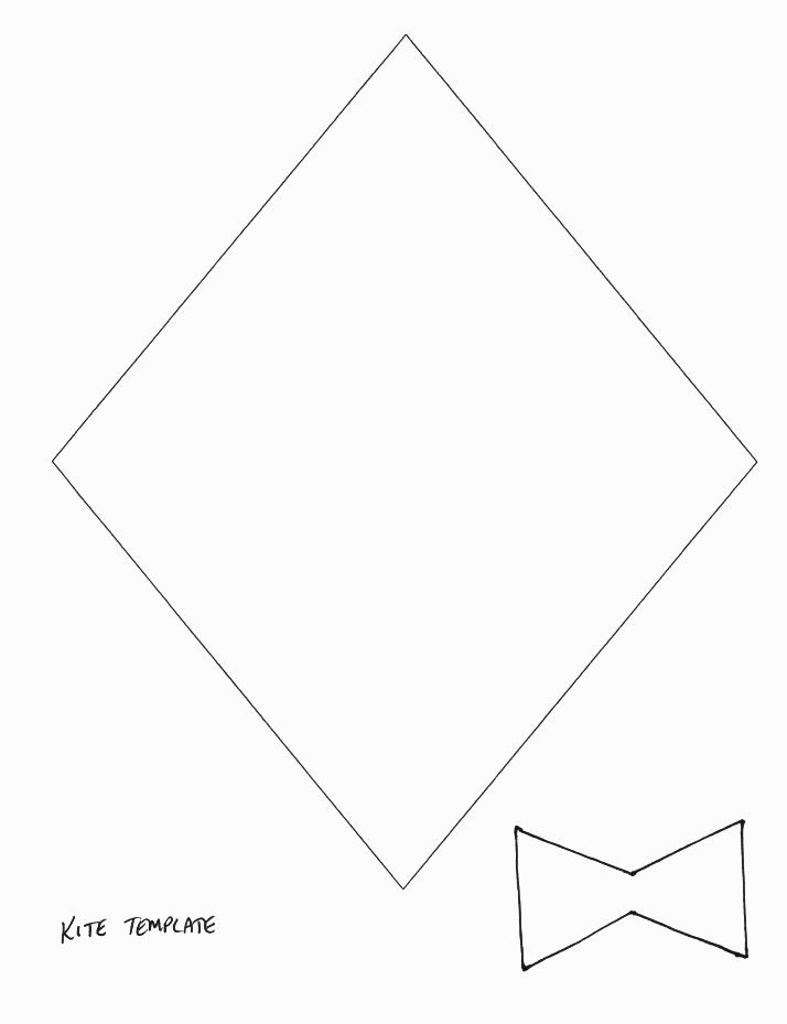 Best 25 Kite template ideas only on Pinterest Kites craft