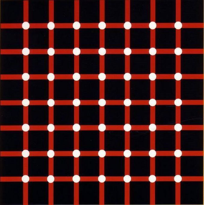 How many black dots are there