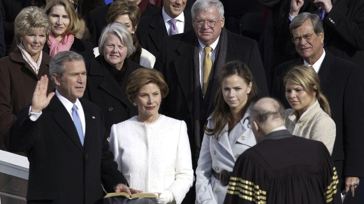 """The twin daughters of former president George W. Bush recall the """"sadness"""" of leaving behind the White House."""