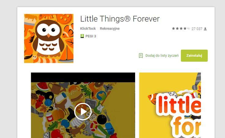 SPOSTRZEGAWCZOŚĆ   https://play.google.com/store/apps/details?id=com.klicktock.littlethings2