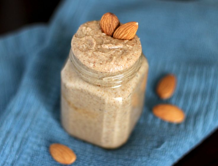 Raw Almond Butter:  (makes about 1.5 cups)   3 cups Raw, unsalted Almonds    Directions:  1. Add the almonds to a food processor and pulse to chop.  2. Blend the chopped almonds for about 10-15 minutes, scraping the sides when necessary.  3. Add salt or stevia/sweetener to taste (I didn't, but it all depends on taste) and scoop/pour into a pretty sealable jar. Store tightly sealed in the fridge.Almond, Nut Butter, Raw Almond, Coconut Oil, Chops Almond, Food Processor, Homemade Almond Butter, Healthy Homemade, Homemade Raw