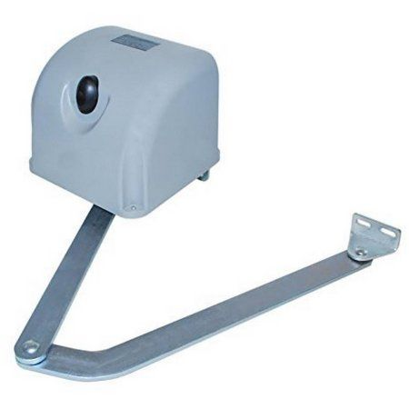 Aleko Mb301 Articulated Swing Gate Opener For Single Swing Gates Up To 6' Long and 400 lbs