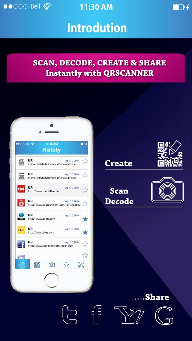 Turbo QR Scanner Pro - Scan Decode Create Generate Barcode & QR Code Reader instantly by Md. Ibrahim Khalil gone Free