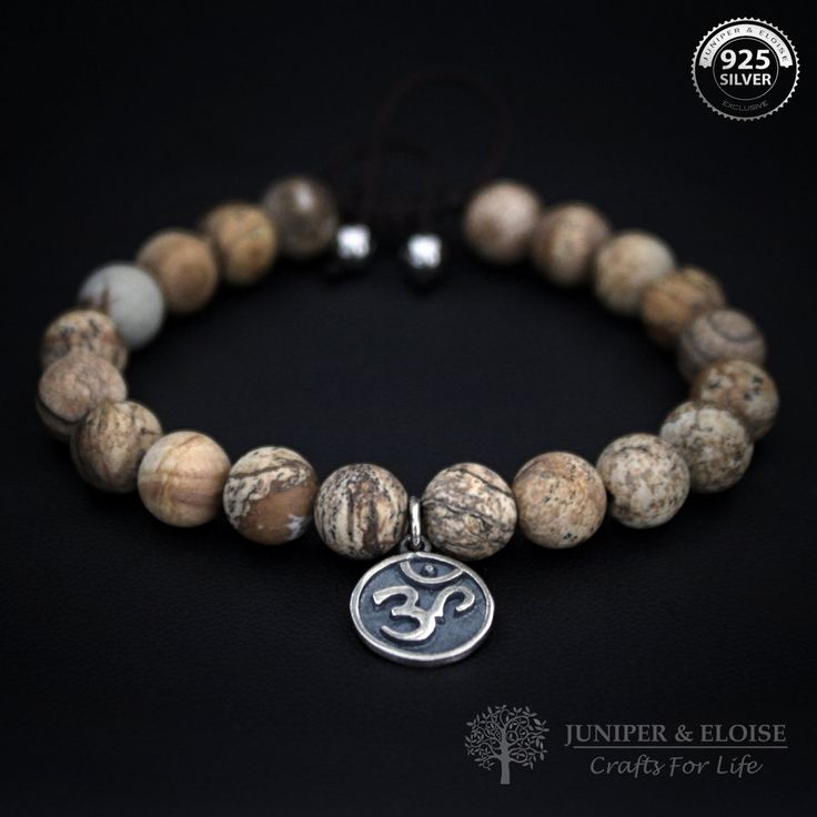 OM Bracelet Wrist Mala Yoga Beads Healing Jewelry Yoga Zen Jewelry Om Shanti Aum jewelry,Mens Womens Bracelet Christmas Gift by JuniperandEloise on Etsy