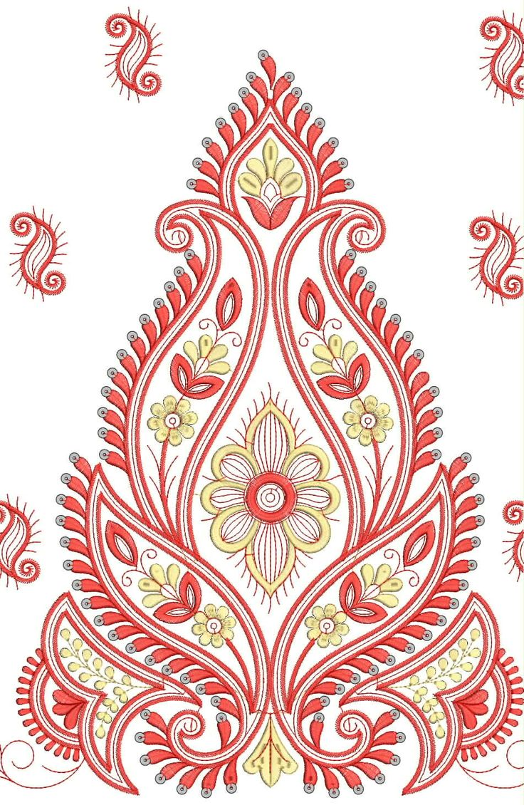 Saree Border Designs For Embroidery - Google Search | Embroidery | Pinterest | Embroidery ...