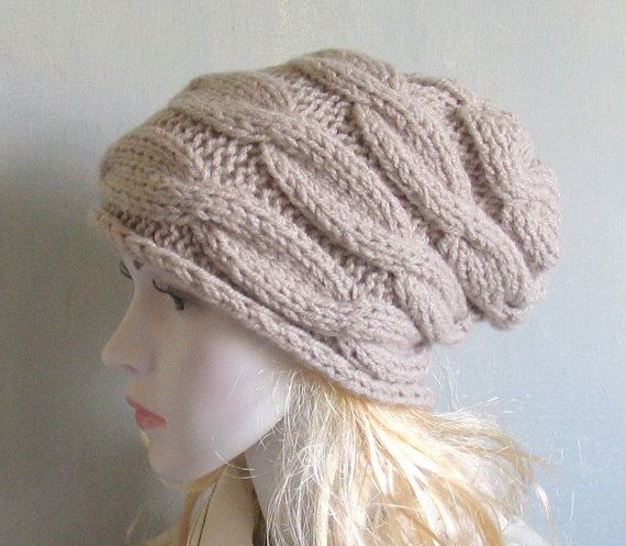 Slouchy Beanie Slouch Hats Oversized  Winter Accessories