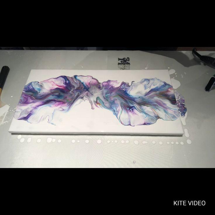 #111 – NINE colour Dutch pour! | Acrylic Pouring | Fluid Artist – YouTube