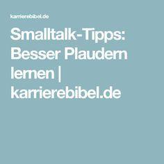 Smalltalk-Tipps: Besser Plaudern lernen | karrierebibel.de