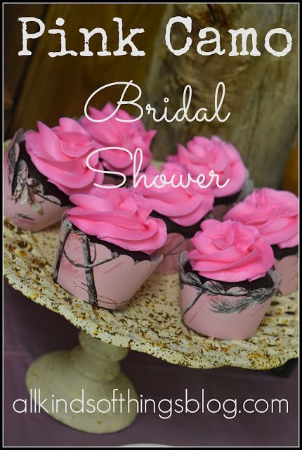 Pink Camo Bridal Shower