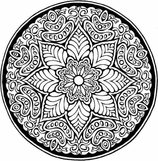 1000 Ideas About Flower Mandala On Pinterest
