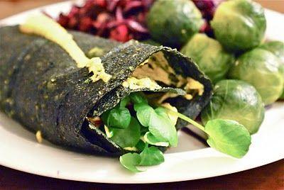 Spinach wrap   Keittiökameleontti