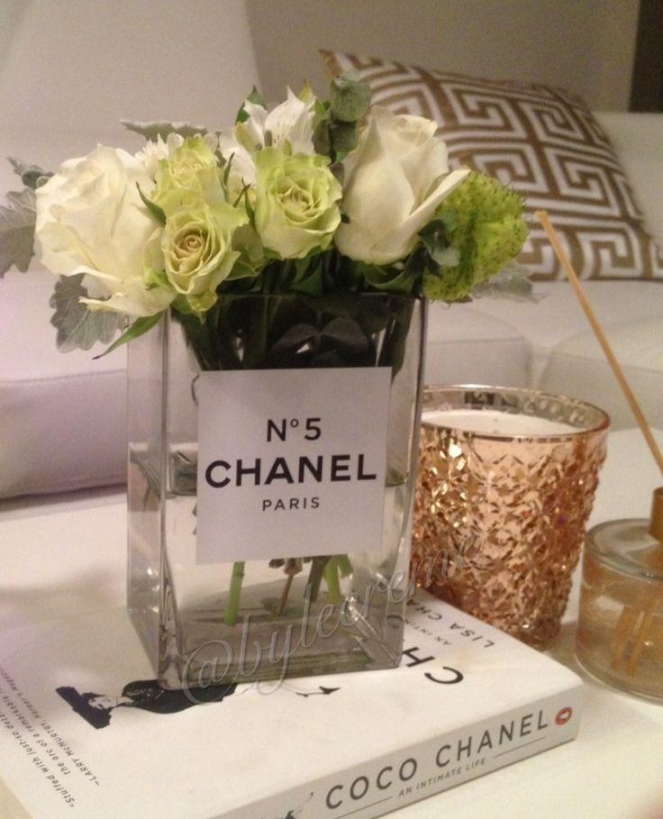 Coco perfume vase