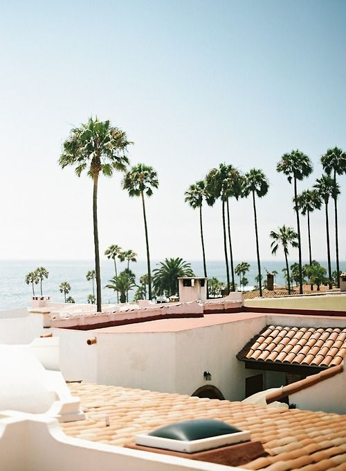 Rooftops in Rosarito, Mexico. Via Sweet Marie Designs      (I was married here. ...beautiful place for a wedding!)