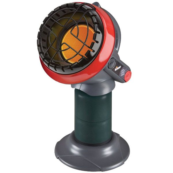 Mr. Heater Portable Propane Heaters. This camp heater fits perfectly in my deer stand!