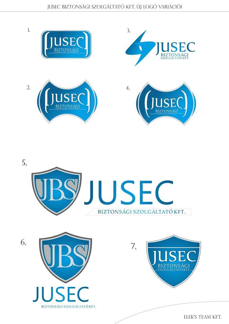 """JUSEC - logo evolution"""