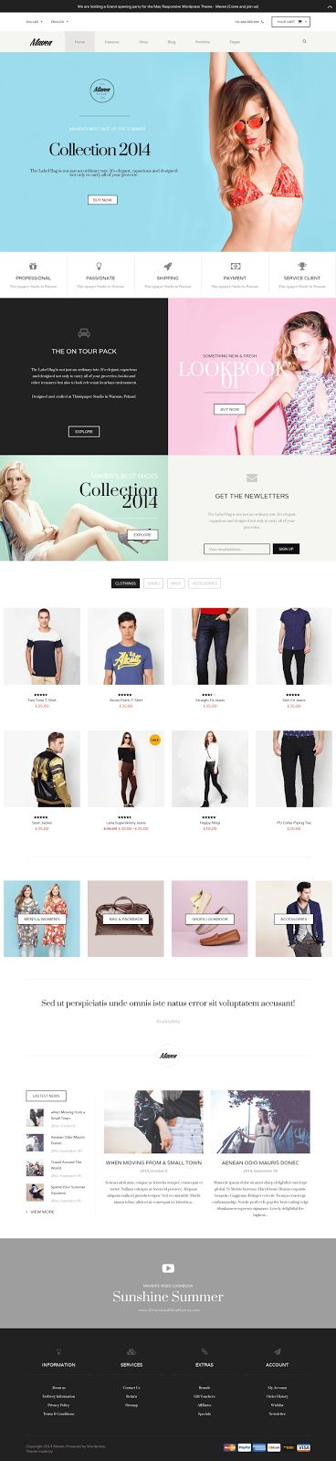 Maven Amazing New WordPress WooCommerce Theme