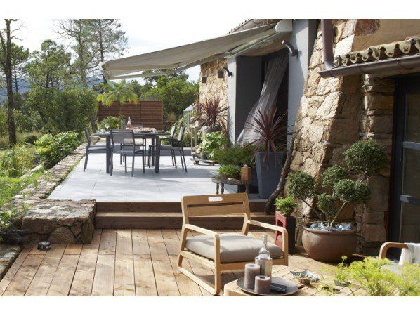 propos de le jardin sur Pinterest  Jardins, Feu de bois et Terrasse