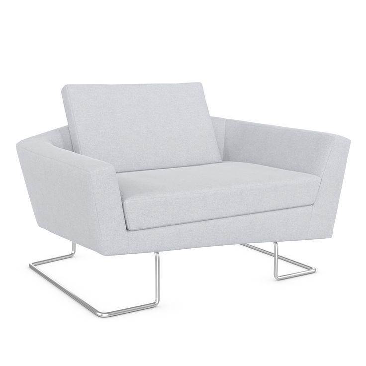 Sculpt club armchair