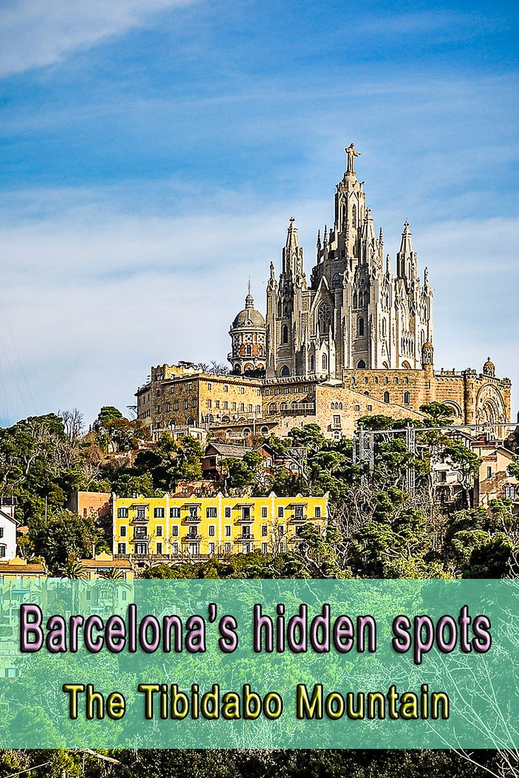 One of the lesser known spots of Barcelona is the Tibidabo Mountain, which is the highest point of the city. It offers the best view of Barcelona and much more. Click to read more.