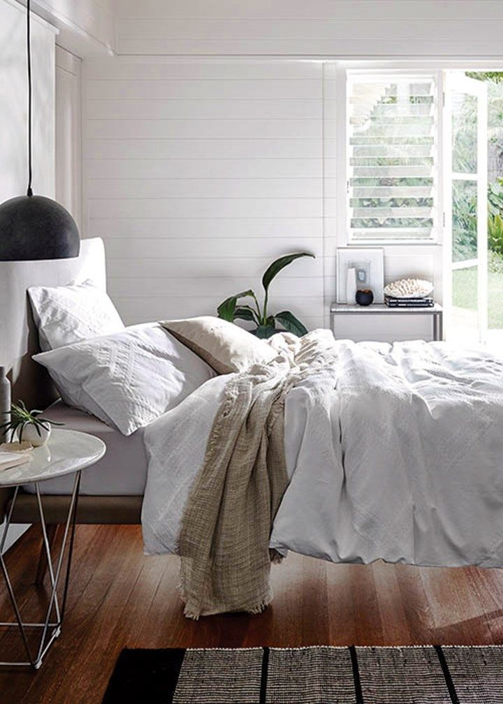 A favourite is Sheridan's Herschel quilt cover in white.
