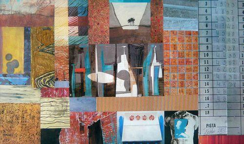 collage edificio