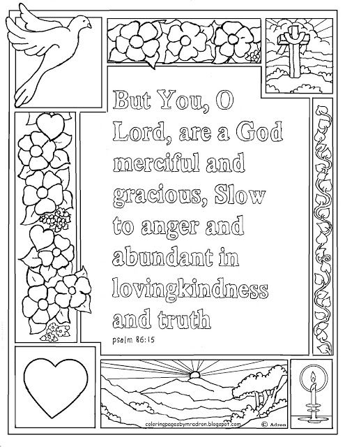psalm 100 4 coloring pages - photo#37