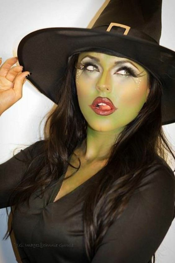 DIY Wizard of Oz Wicked Witch of the West Halloween Costume Idea 1