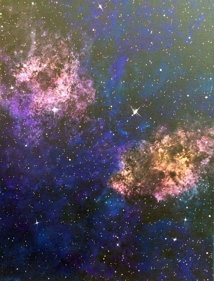 New universe painting