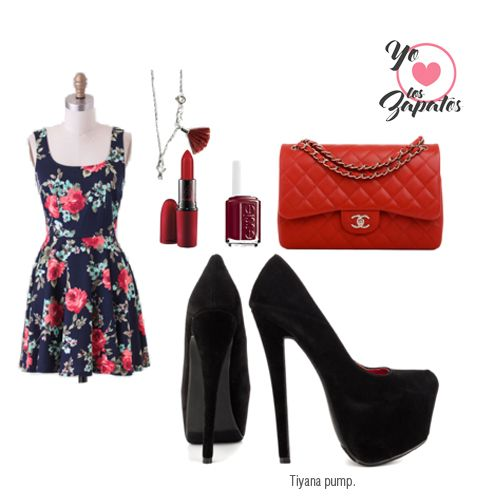 #pumps #heels #outfit #yoamoloszapatos #chic