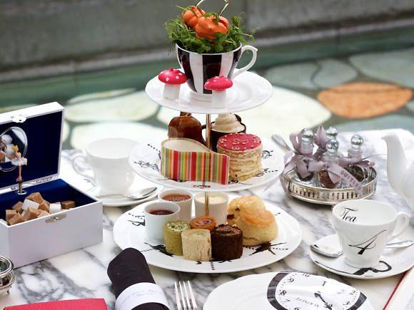 Mad Hatter's Afternoon Tea at The Sanderson
