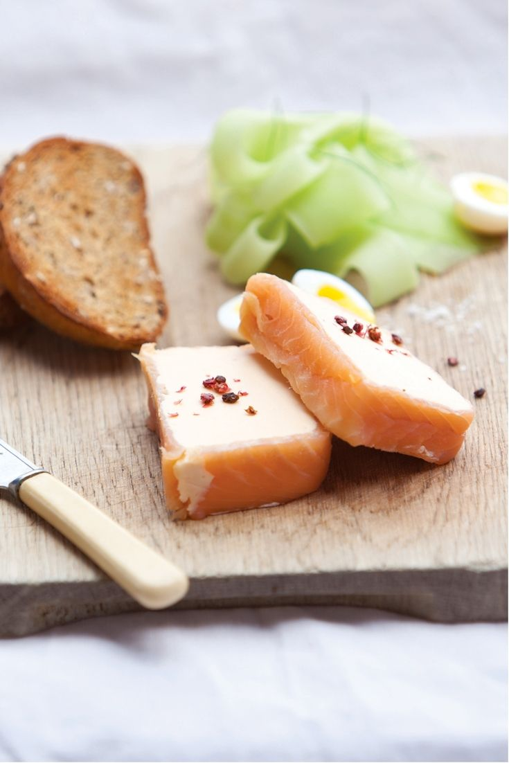 This salmon terrine recipe by Bryan Webb is made with smoked salmon for remarkable flavour and features punchy horseradish cream on the side.