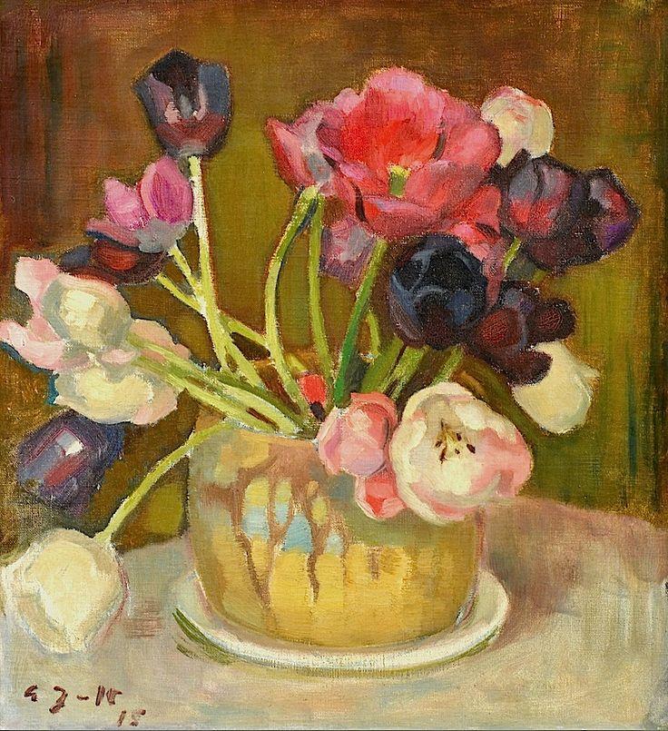 Eero Järnefelt 1863-1937 Still-Life with Tulips