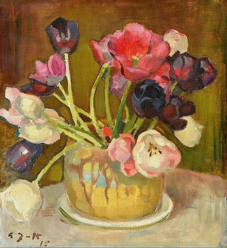 Eero Järnefelt 1863-1937 Still-Life with Tulips