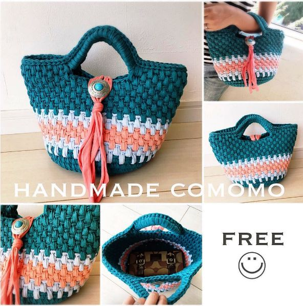 Bolso o capazo a crochet