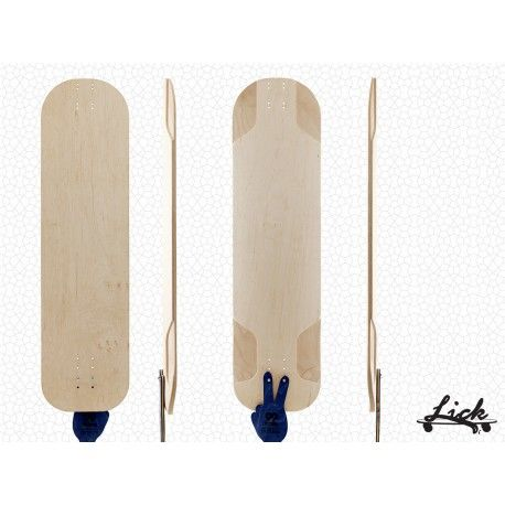 5E Downhill from Lick Longboards (via 99 Factory). Pure wood, no plastic at all.  #99factory #european #longboard #manufacturer #wood #noplastic #lick #longboards #downhill
