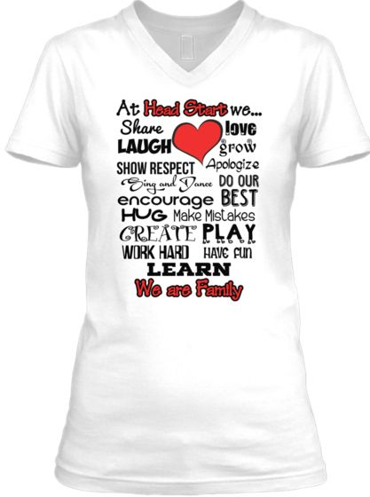 Limited Ed.- Head Start - We are Family | Teespring