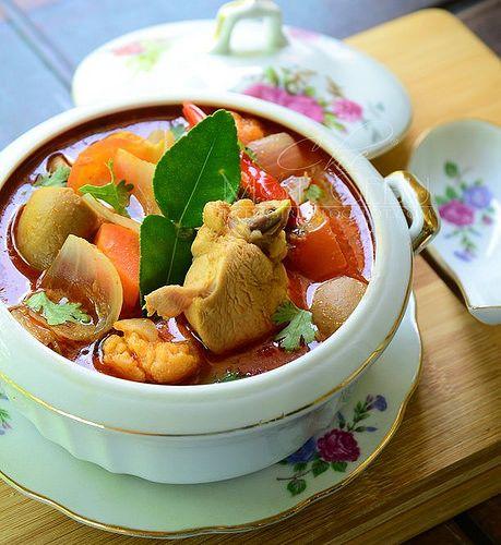 Dapur Tanpa Sempadan...: RESIPI TOMYAM AYAM