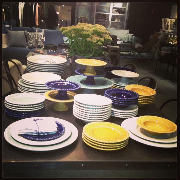PotteryJo ceramics at Posh Living Stockholm.