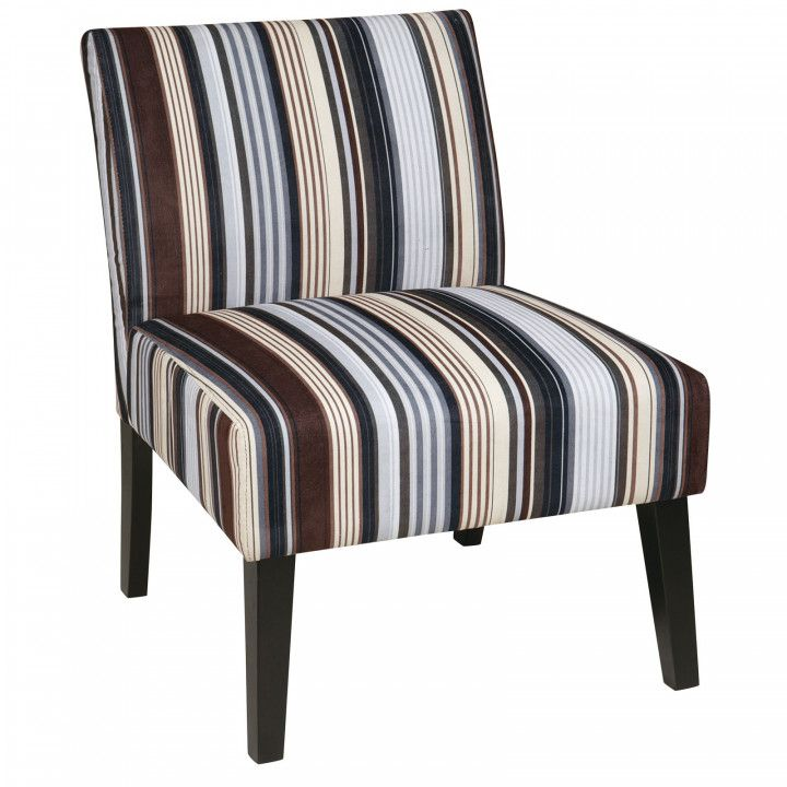 Best Blue Striped Accent Chair Best Way To Paint Wood 400 x 300