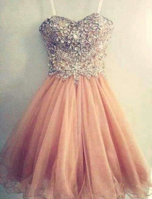 Charming tulle homecoming dress,spaghetti straps homecoming dress,shiny beading homecoming dress